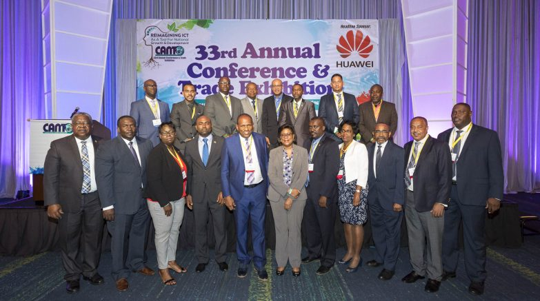 Caribbean ICT/Telecommunications Ministers at CANTO 2017